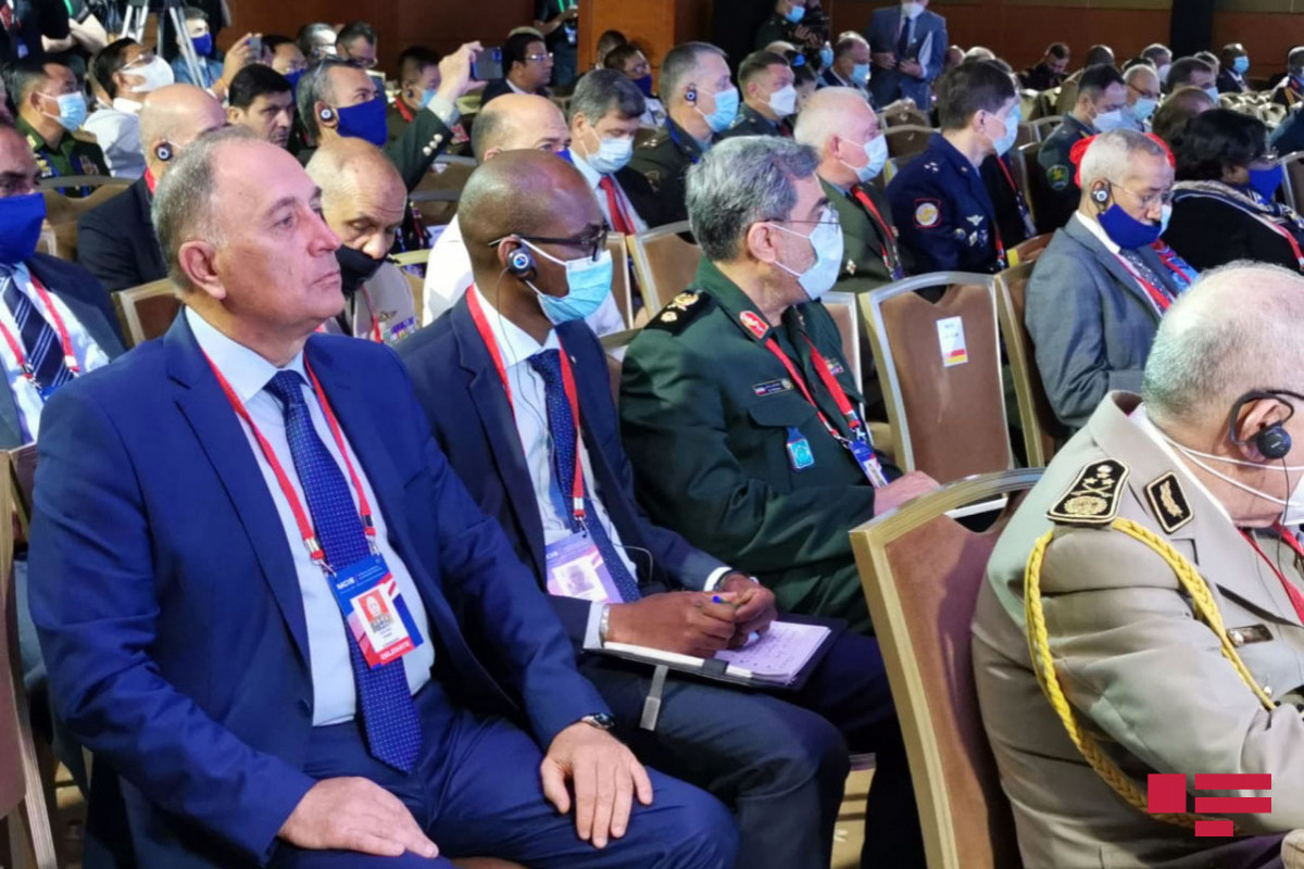 """Azerbaijani delegation attends IX Moscow conference on international security-<span class=""""red_color"""">PHOTO</span>"""