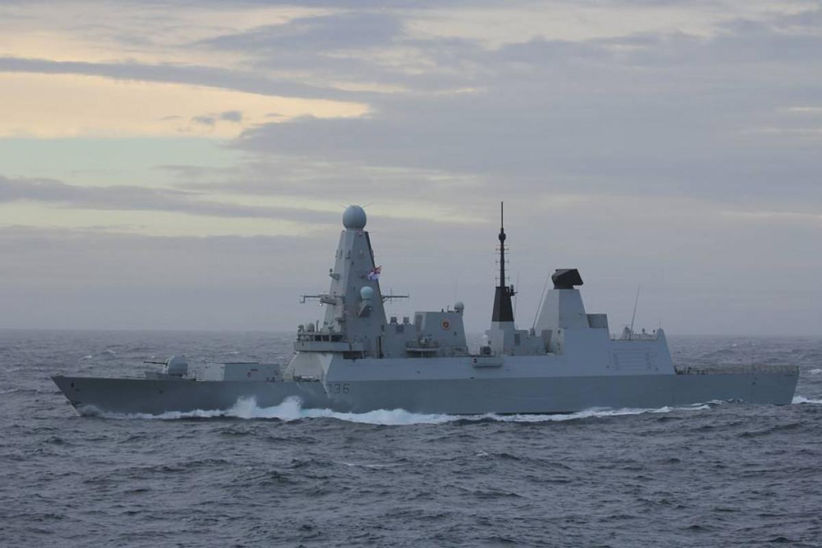 Russian ship fires warning shots at UK warship in Black Sea