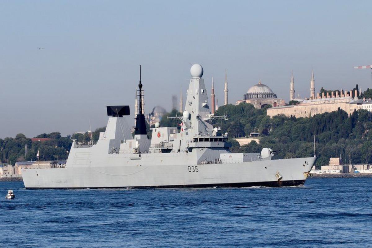 UK denies Russia fired warning shots near British warship