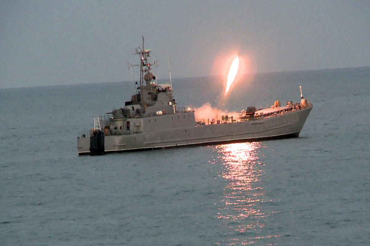 """Azerbaijan Naval Forces tactical exercises ended-<span class=""""red_color"""">PHOTO-<span class=""""red_color"""">VIDEO"""