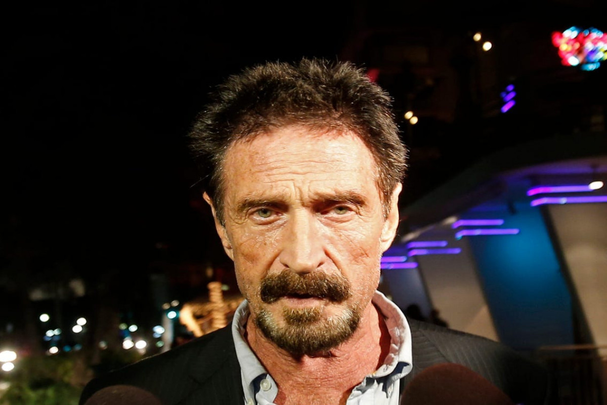 Antivirus Mogul John McAfee found dead in Spanish prison after Court approves extradition