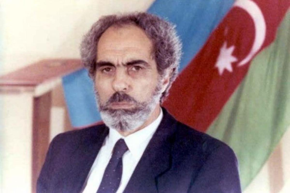 Сегодня исполняется 83 года со дня рождения Абульфаза Эльчибея