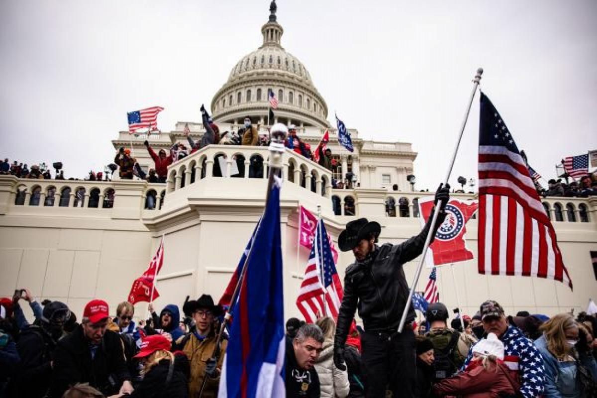 В США вынесли первый приговор по делу о штурме Капитолия