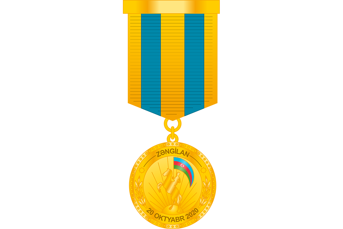 """Servicemen of Armed Forces awarded the medal """"For the release of Zangilan"""""""