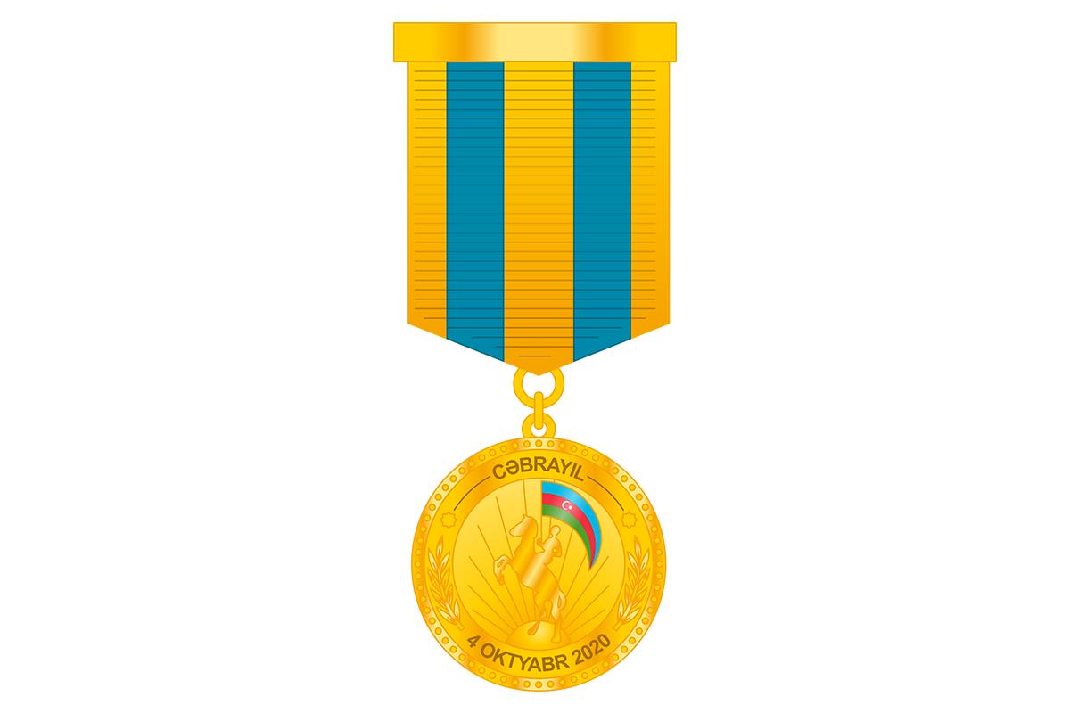 """10 mindən çox hərbi qulluqçu """"Cəbrayılın azad olunmasına görə"""" medalı ilə təltif edilib"""