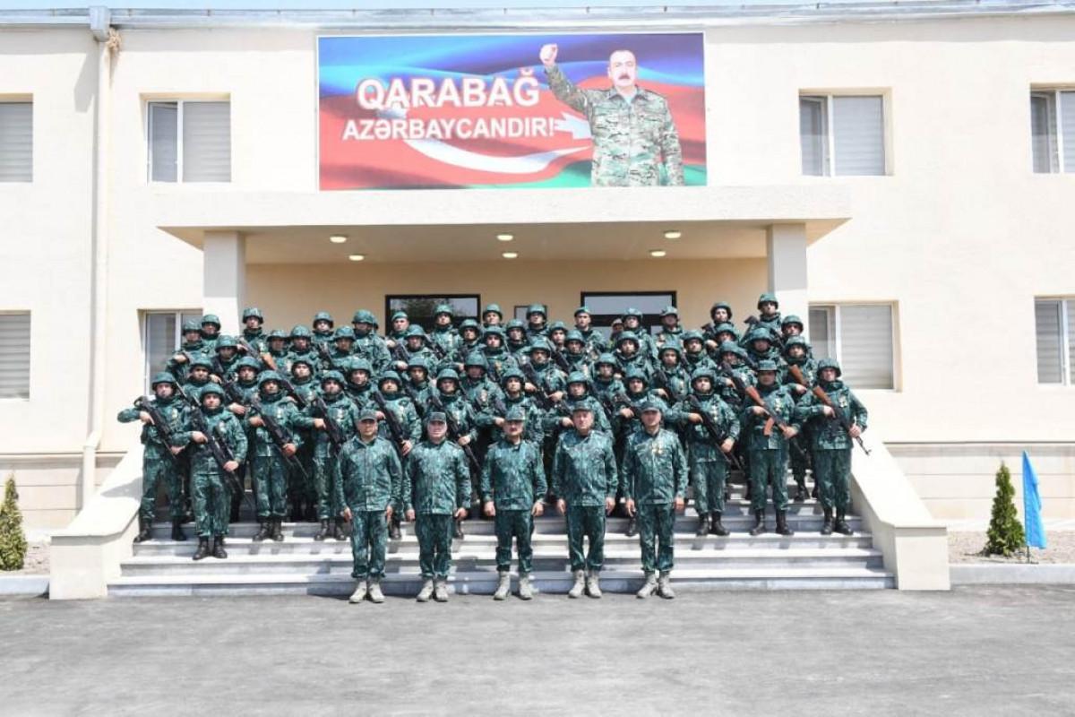 "Azerbaijan SBS establishes next military unit on border with Armenia-<span class=""red_color"">PHOTO"
