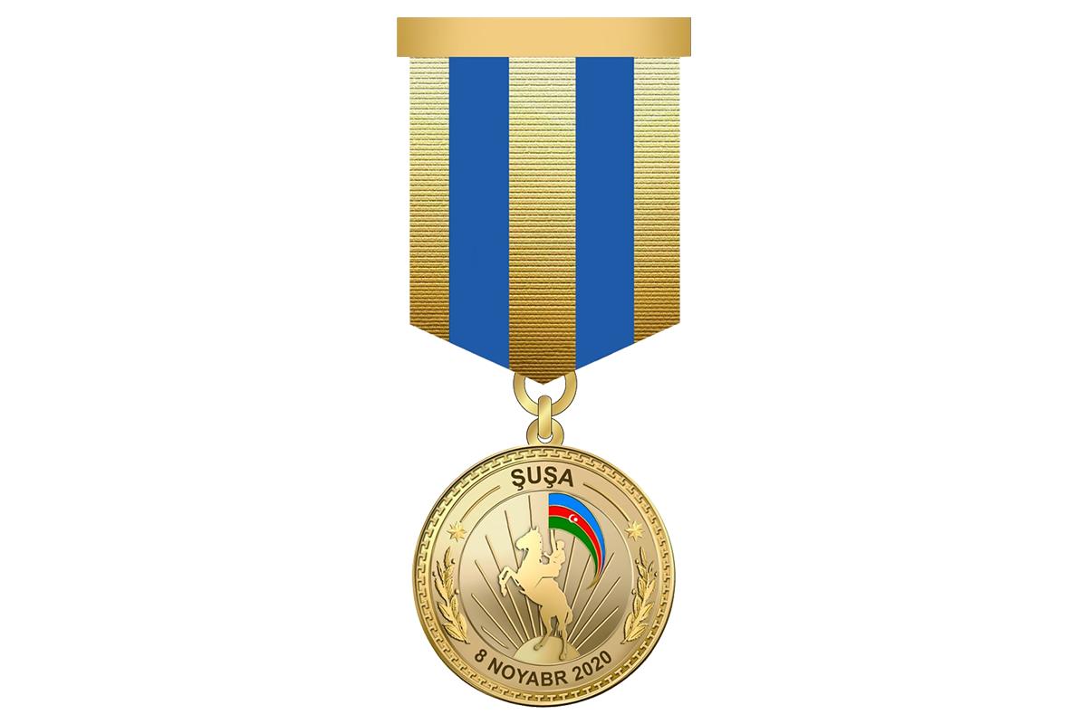 5784 военнослужащих ВС Азербайджана награждены медалью «За освобождение Шуши»