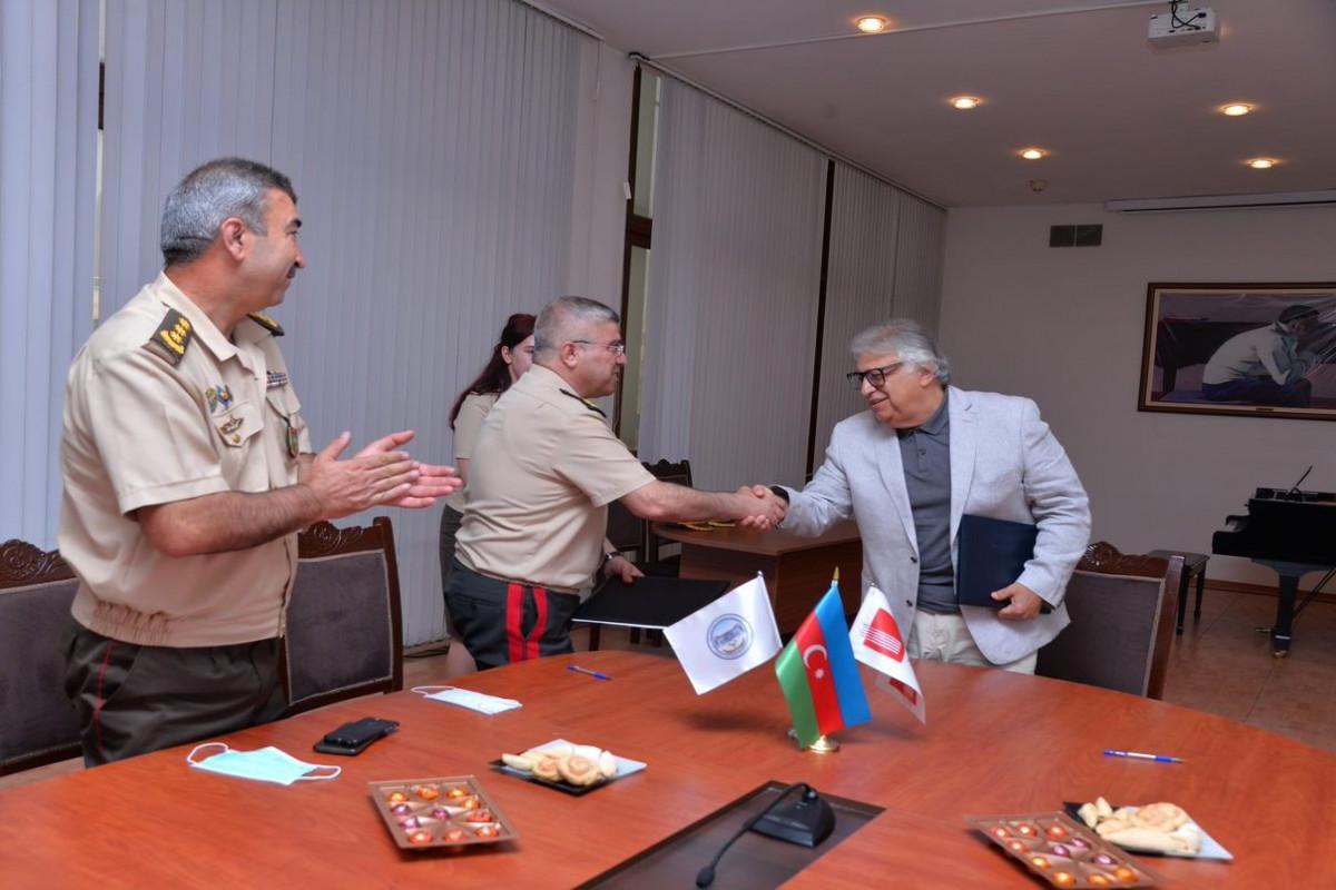 FHN Akademiyası ilə Bakı Musiqi Akademiyası arasında əməkdaşlıq müqaviləsi imzalanıb