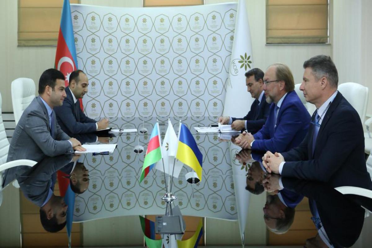 Azərbaycan və Ukraynanın biznes dairələri arasında fəaliyyət planı müəyyənləşib