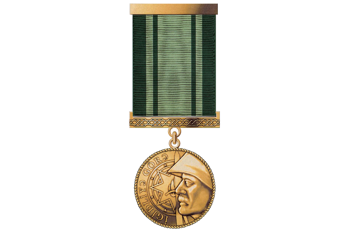 """Azerbaijani President awards a group of servicmen with """"For Heroism"""" Medal"""