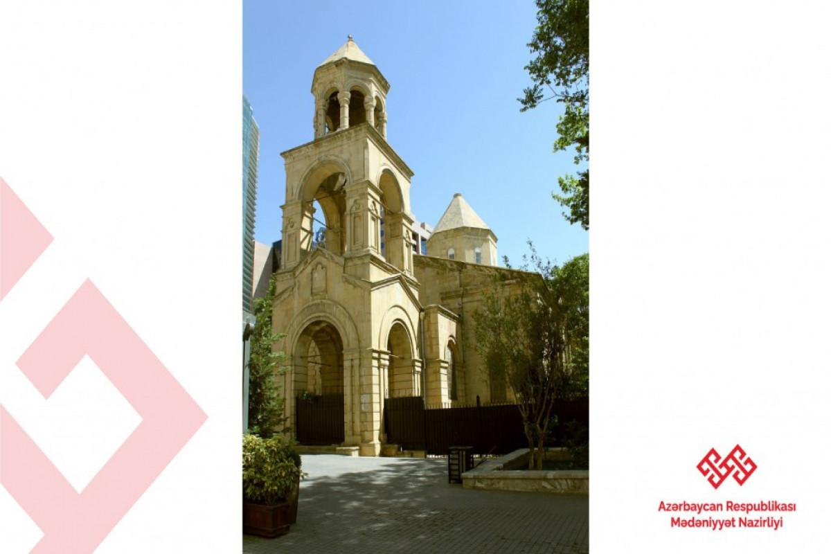 UN High Representative visits Armenian church in Baku