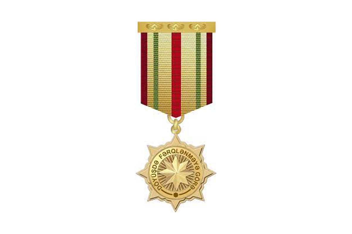 A group of servicemen was awarded the Distinguished Service Medal