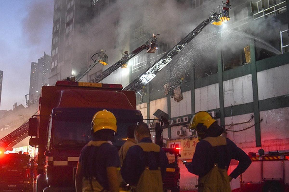 Çində təlim mərkəzində güclü yanğın olub, azı 18 nəfər ölüb