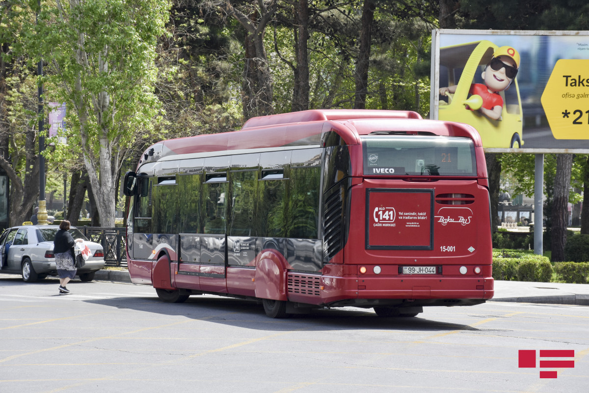 Buses not to run from June 26 to 28 in Azerbaijan