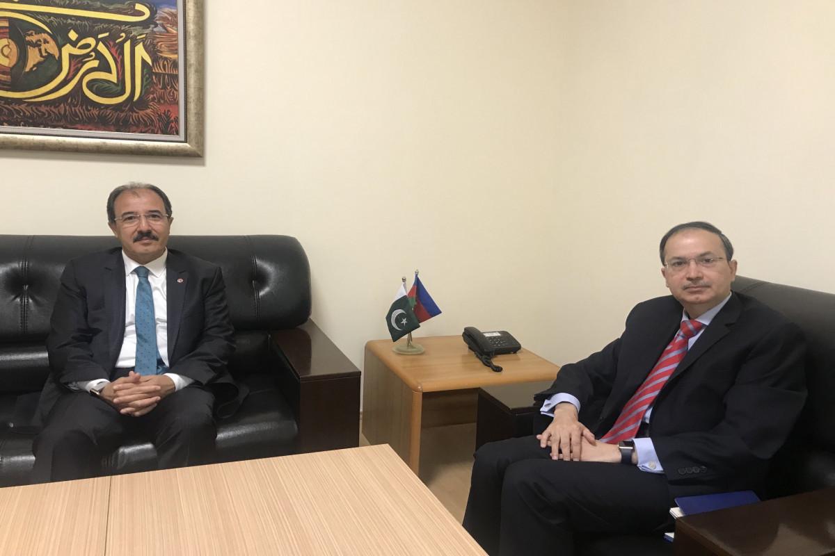 Ambassadors of Turkey and Pakistan to Azerbaijan meet