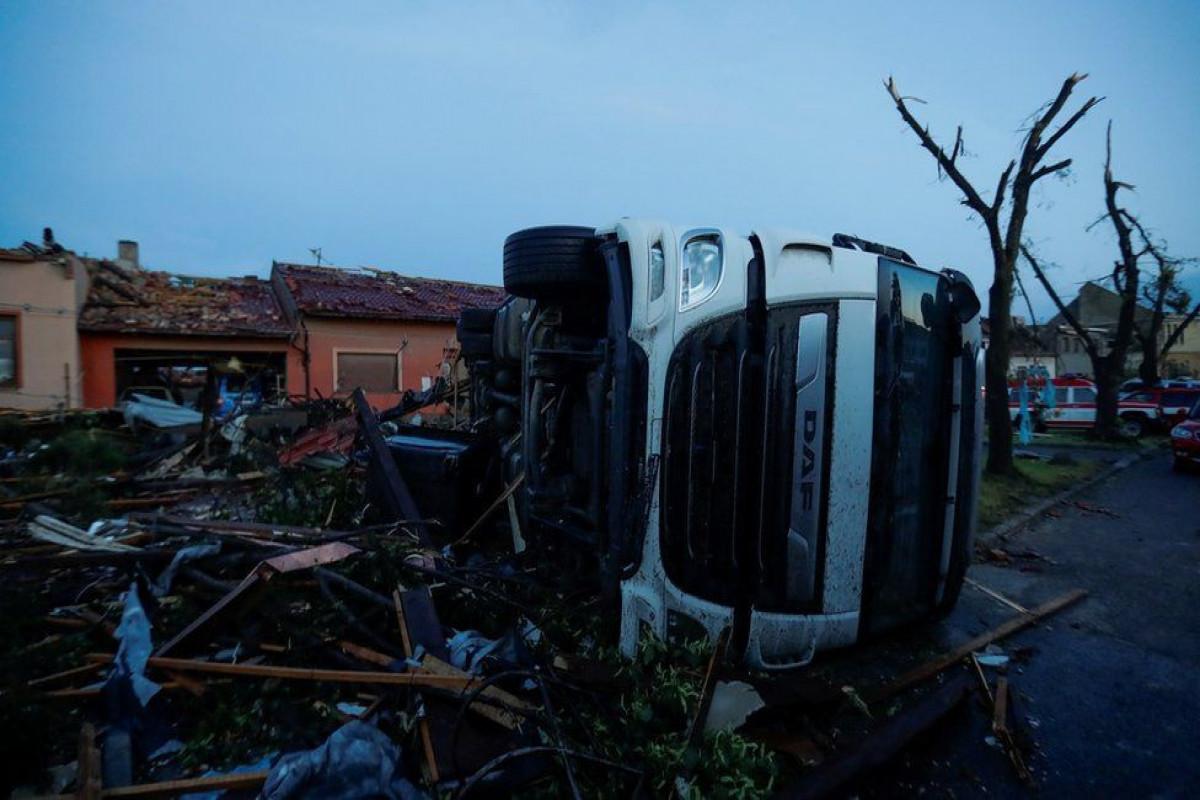 Deadly tornado wreaks havoc in Czech villages