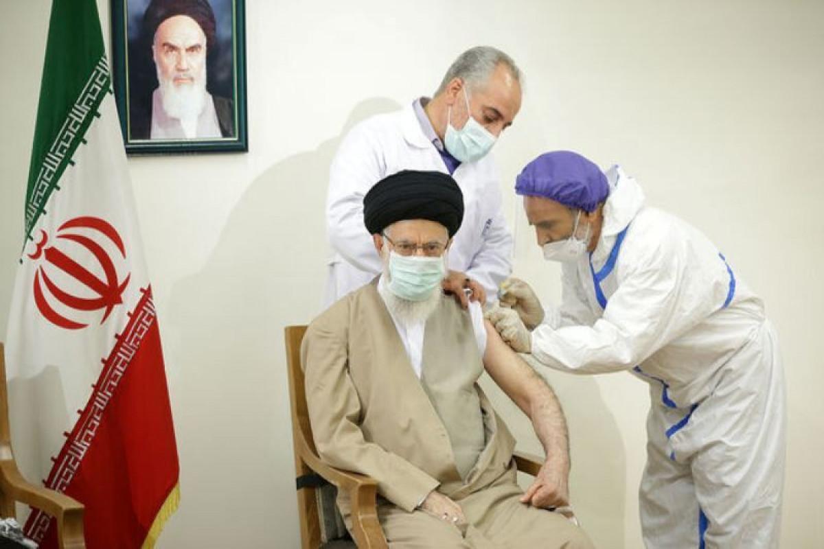 Верховный лидер Ирана привился вакциной от COVID-19 «Ков Иран Баракат»