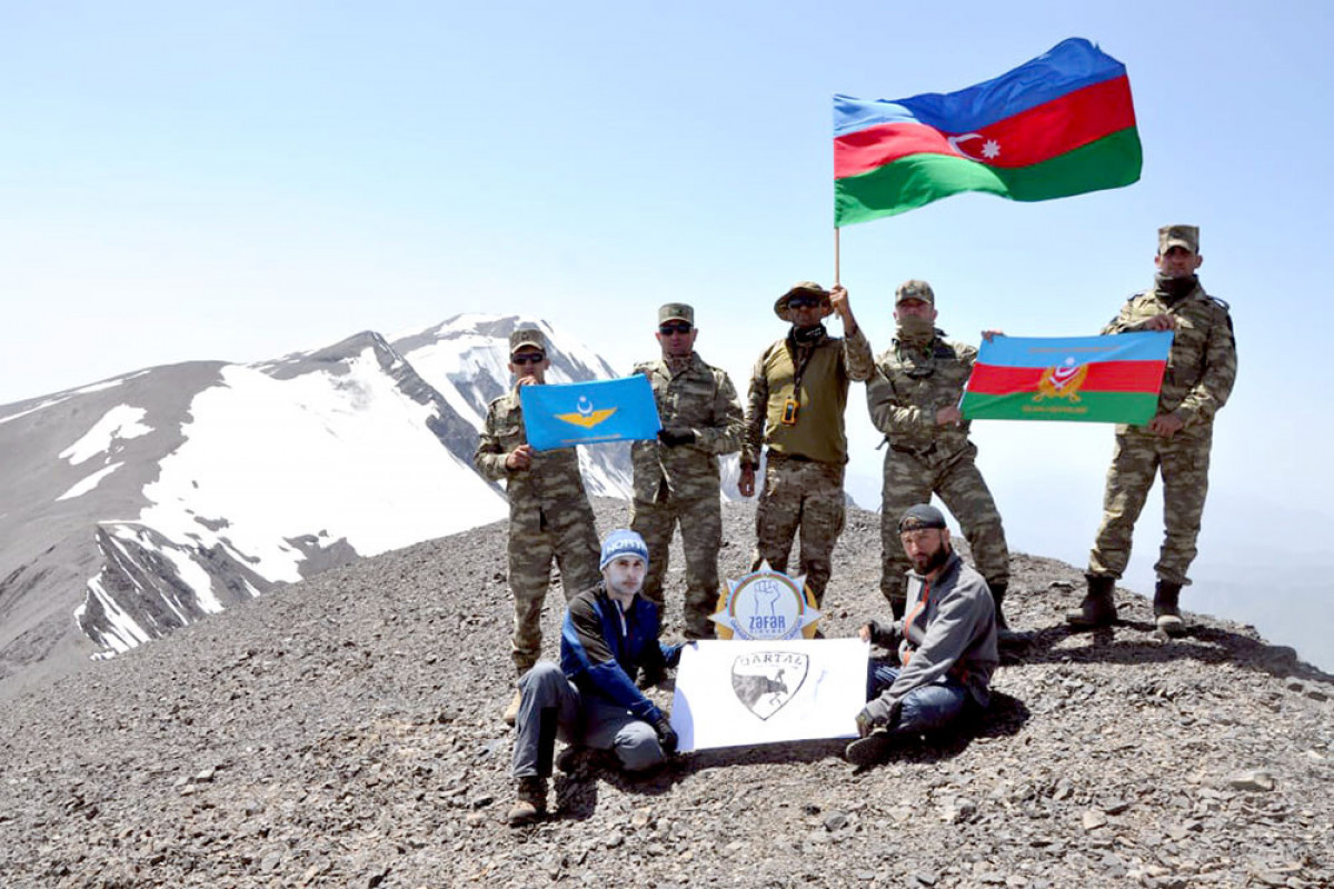 """Servicemen's expedition to the """"Zafar"""" peak ended-<span class=""""red_color"""">VIDEO</span>"""