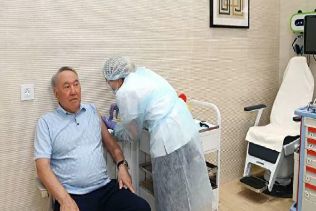 Nazarbayev receives Sputnik V against COVID-19