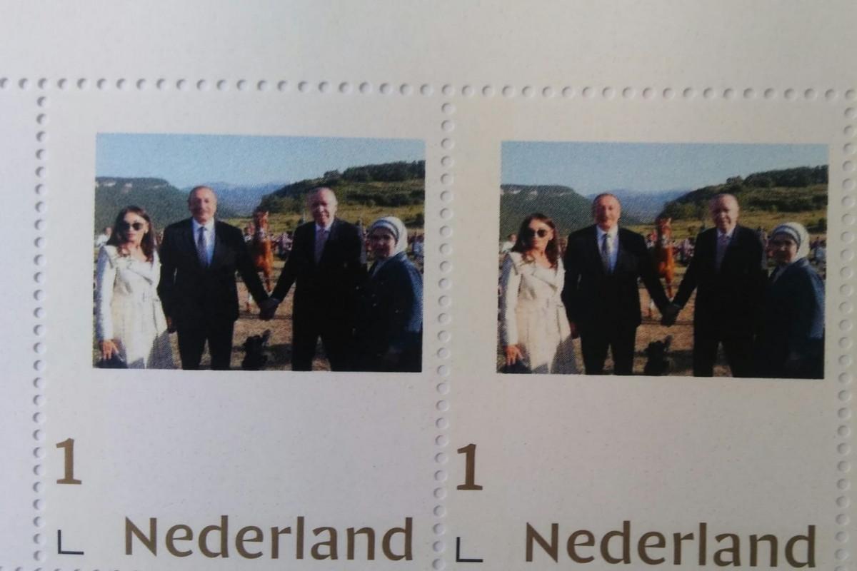 Выпущена международная почтовая марка, посвященная встрече президентов Азербайджана и Турции в Шуше