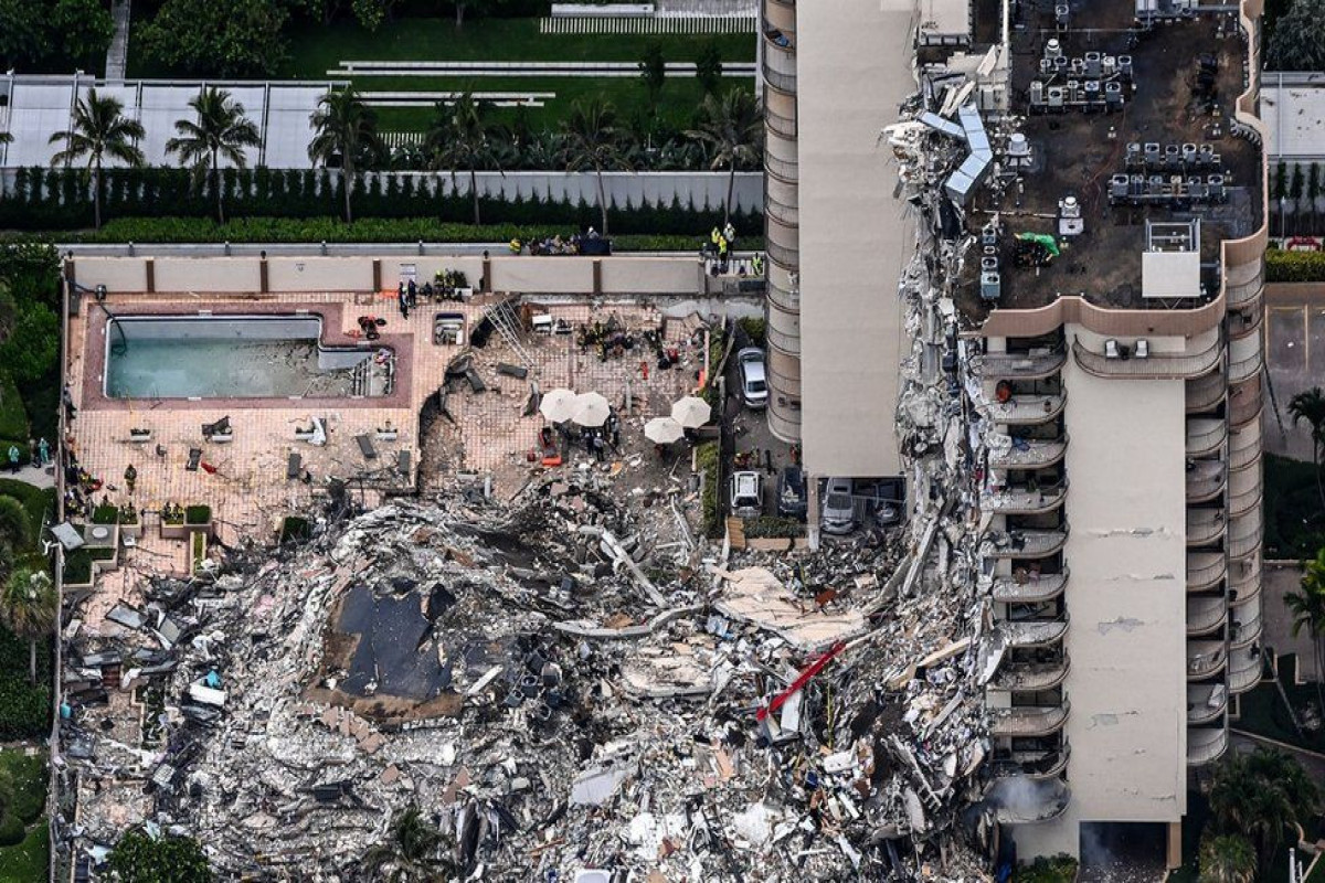 Four dead and 159 missing in Miami collapse
