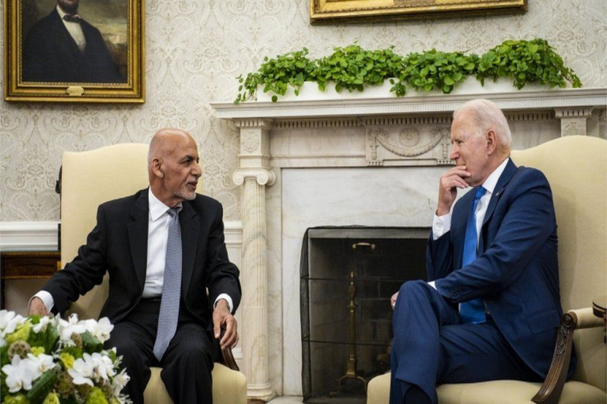 Biden says Afghans must decide their own future