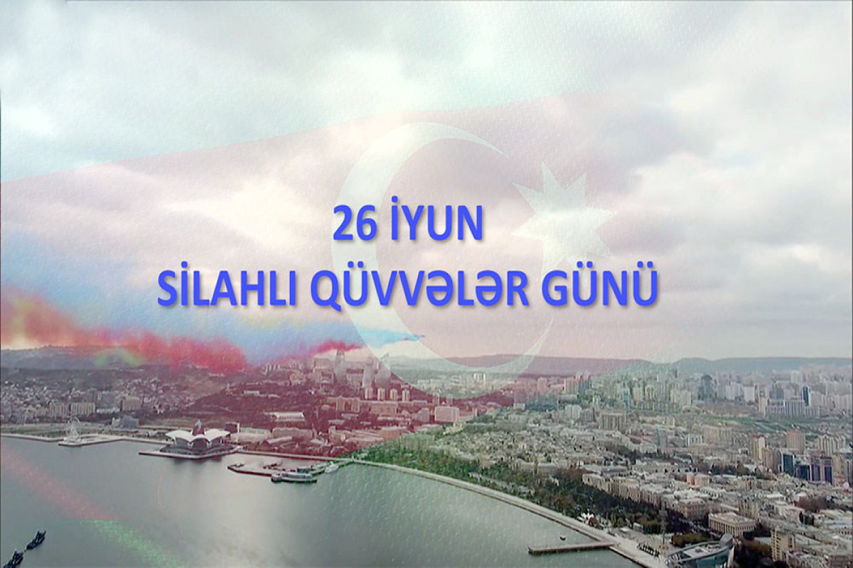 Azerbaijani MoD shared video on occasion of Armed Forces Day-VIDEO