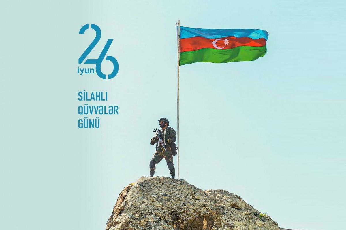 Мехрибан Алиева поделилась публикацией по случаю Дня Вооруженных Сил