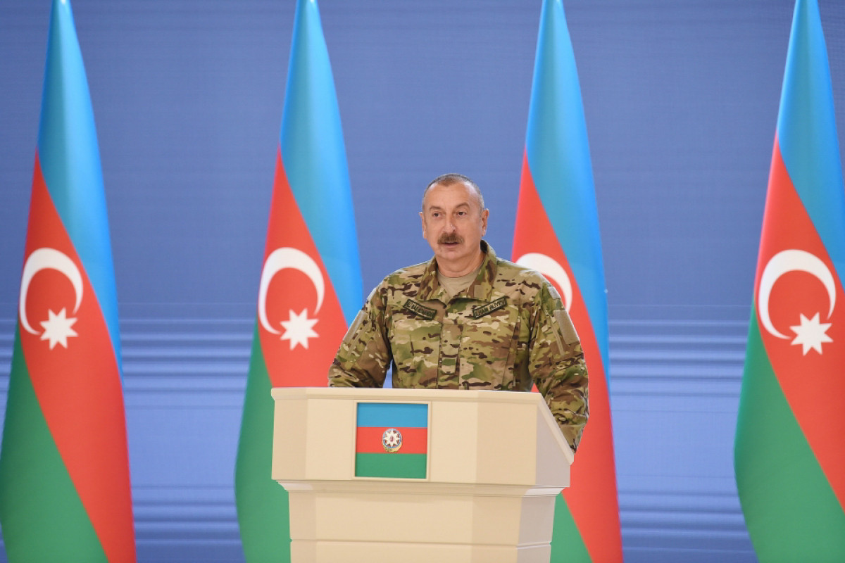 President Ilham Aliyev: We avenged our martyrs on the battlefield