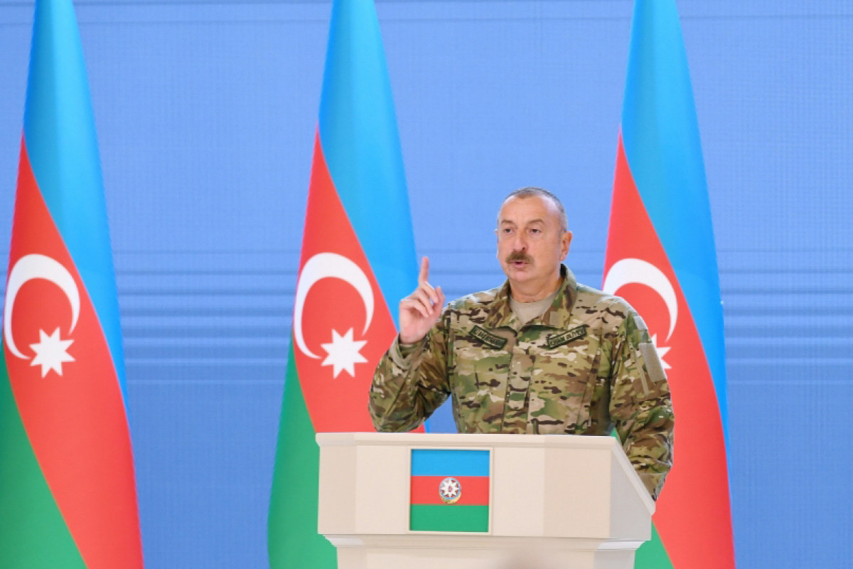 Ilham Aliyev: The mediators were also fed up with Armenia's hypocritical position in the process of negotiation