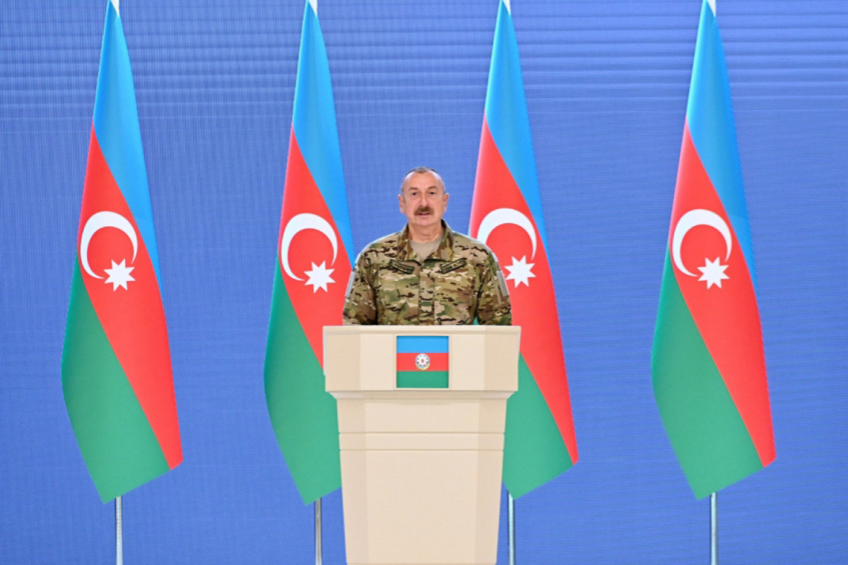Azerbaijani President: The second Karabakh war was a lesson that Armenia will remember forever