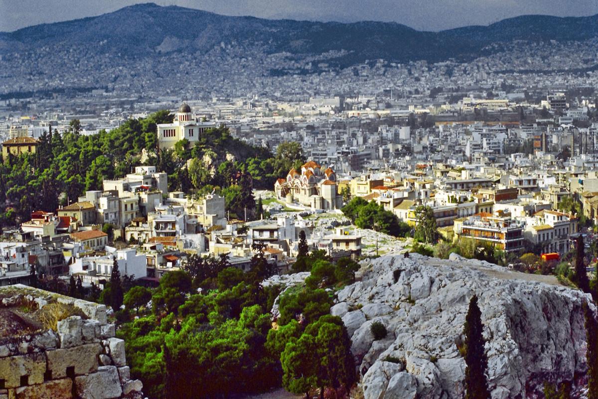 В Афинах в пятницу температура поверхности достигла 72 градусов