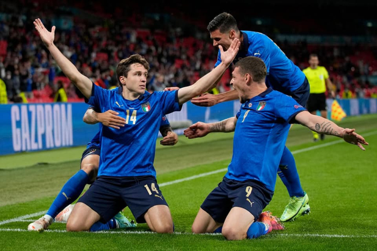 Евро-2020:  Италия в дополнительное время обыграла Австрию и вышла в 1/4 финала