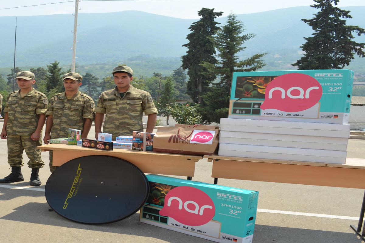 Nar отпраздновал День Вооруженных Сил вместе с солдатами, несущими службу на освобожденных территориях