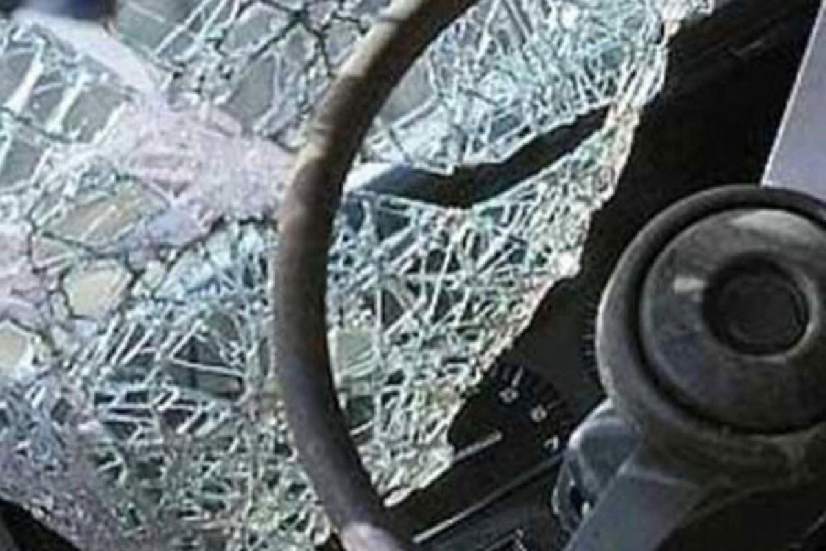 В Сумгайыте столкнулись два автомобиля, погиб один человек - ВИДЕО -ОБНОВЛЕНО