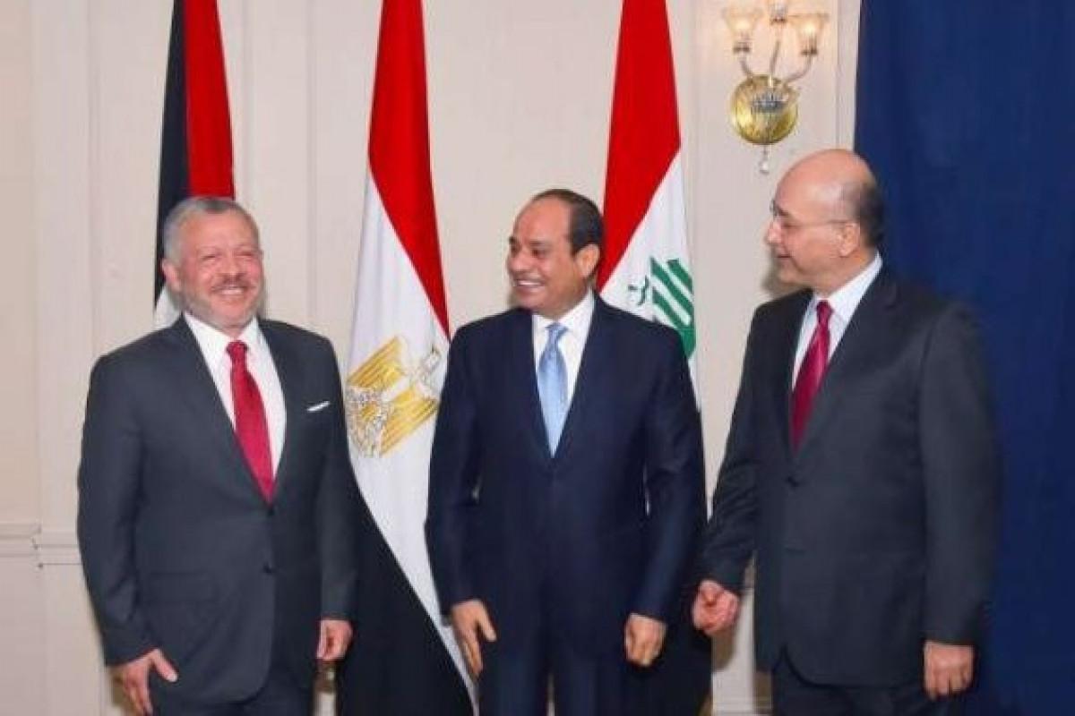 Главы Египта, Иордании и Ирака заявили о стремлении вывести отношения на новый уровень