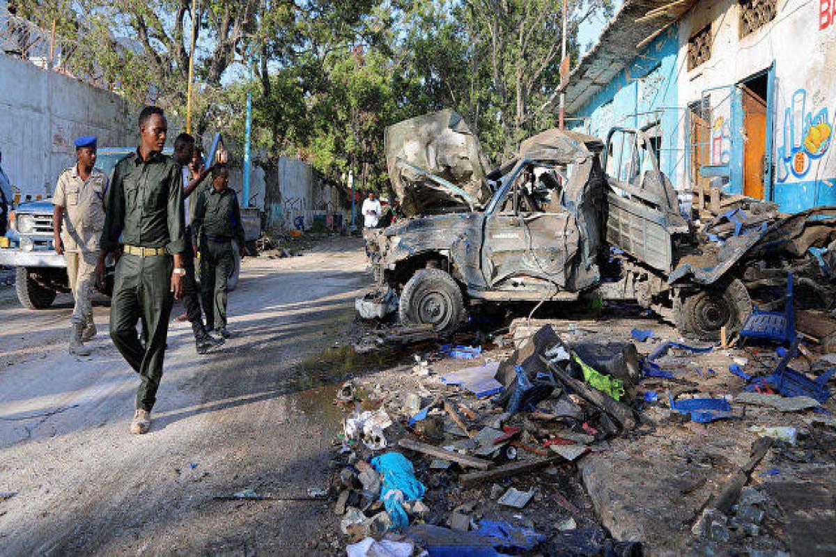 Suicide car bombing kills seven in central Somalia