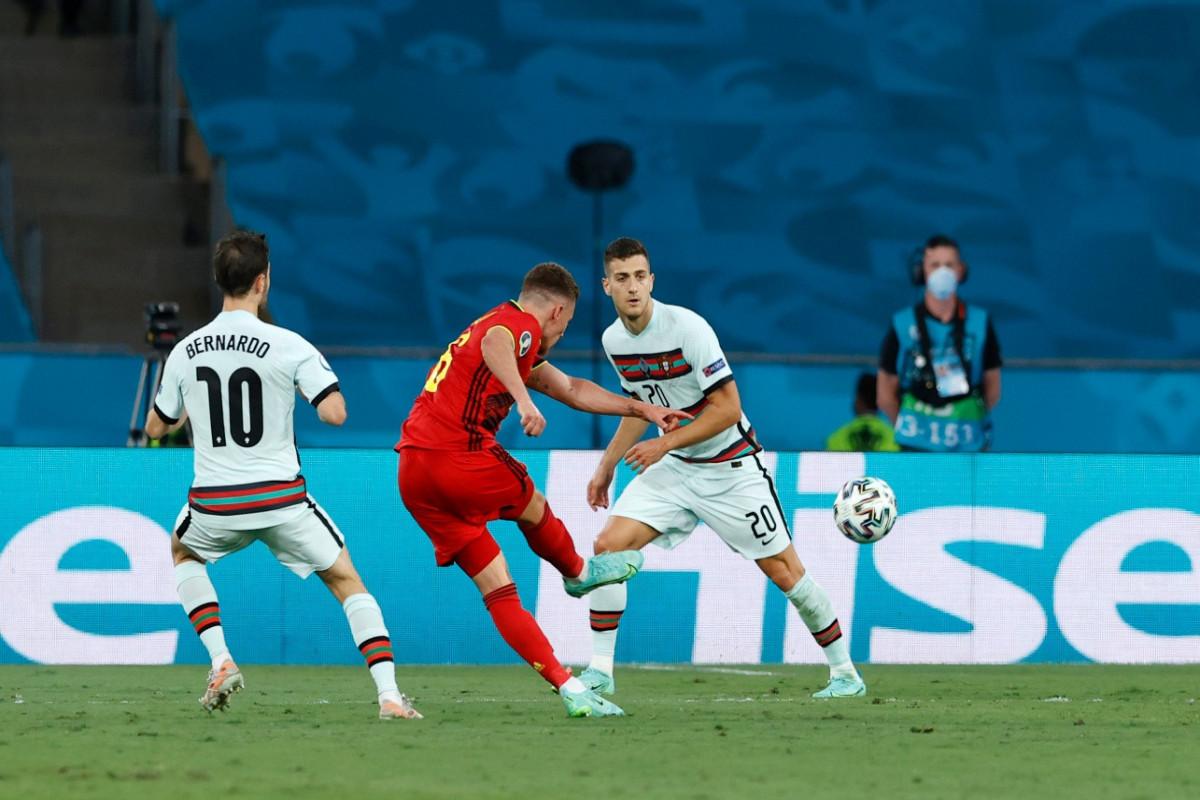 Евро-2020:  Бельгия обыграла Португалию в матче 1/8 финала