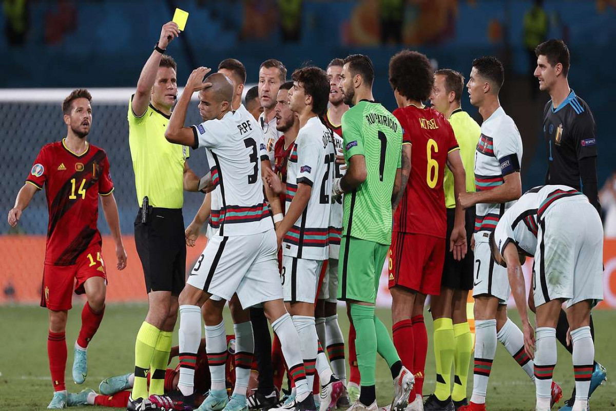 Евро-2020:  Бельгия встретится с Италией в 1/4 финала