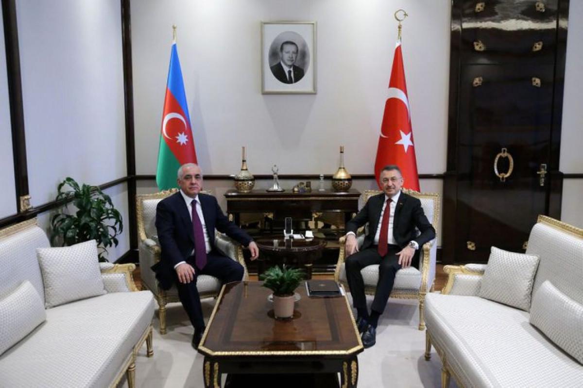 """Əli Əsədov Fuat Oktaya """"Kanal İstanbul""""la bağlı təbrik məktubu ünvanlayıb"""