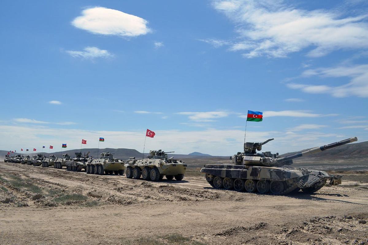 Azerbaijani-Turkish joint exercises started in Baku