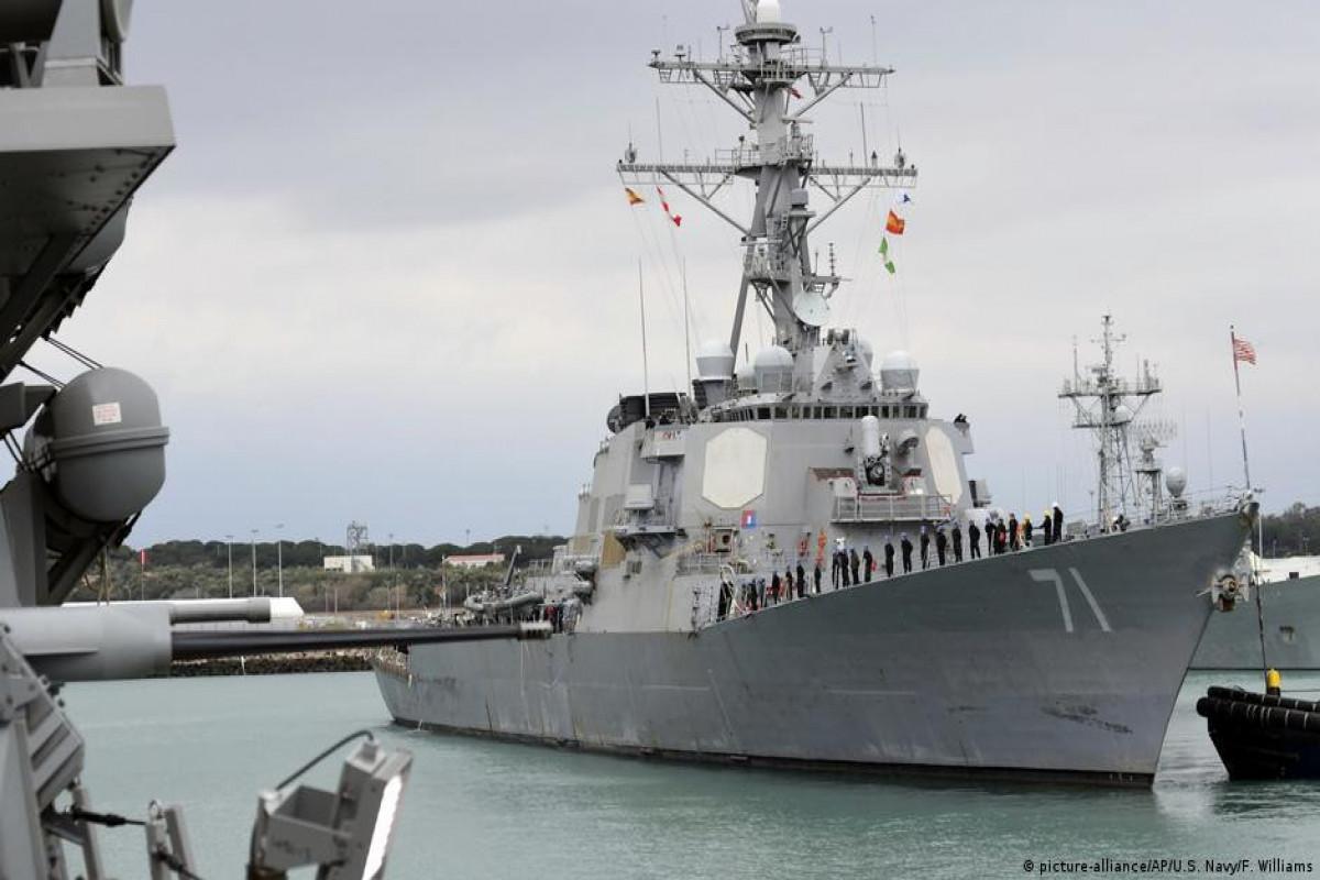 """Qara dənizdə NATO-nun """"Sea Breeze -2021"""" təlimləri start götürüb"""
