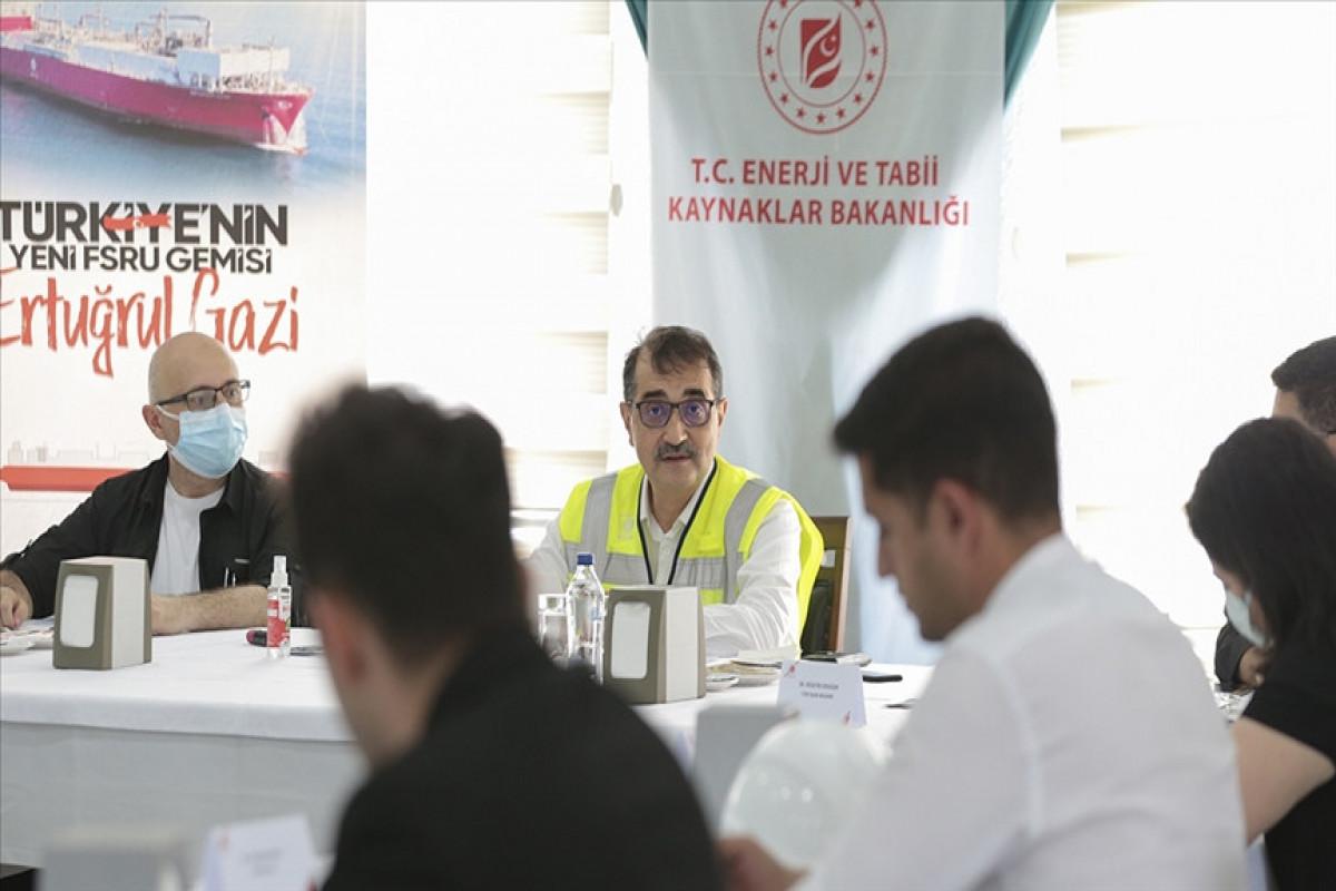 Nazir Türkiyədən Naxçıvana təbii qazın tədarükünə dair görülən işləri açıqlayıb