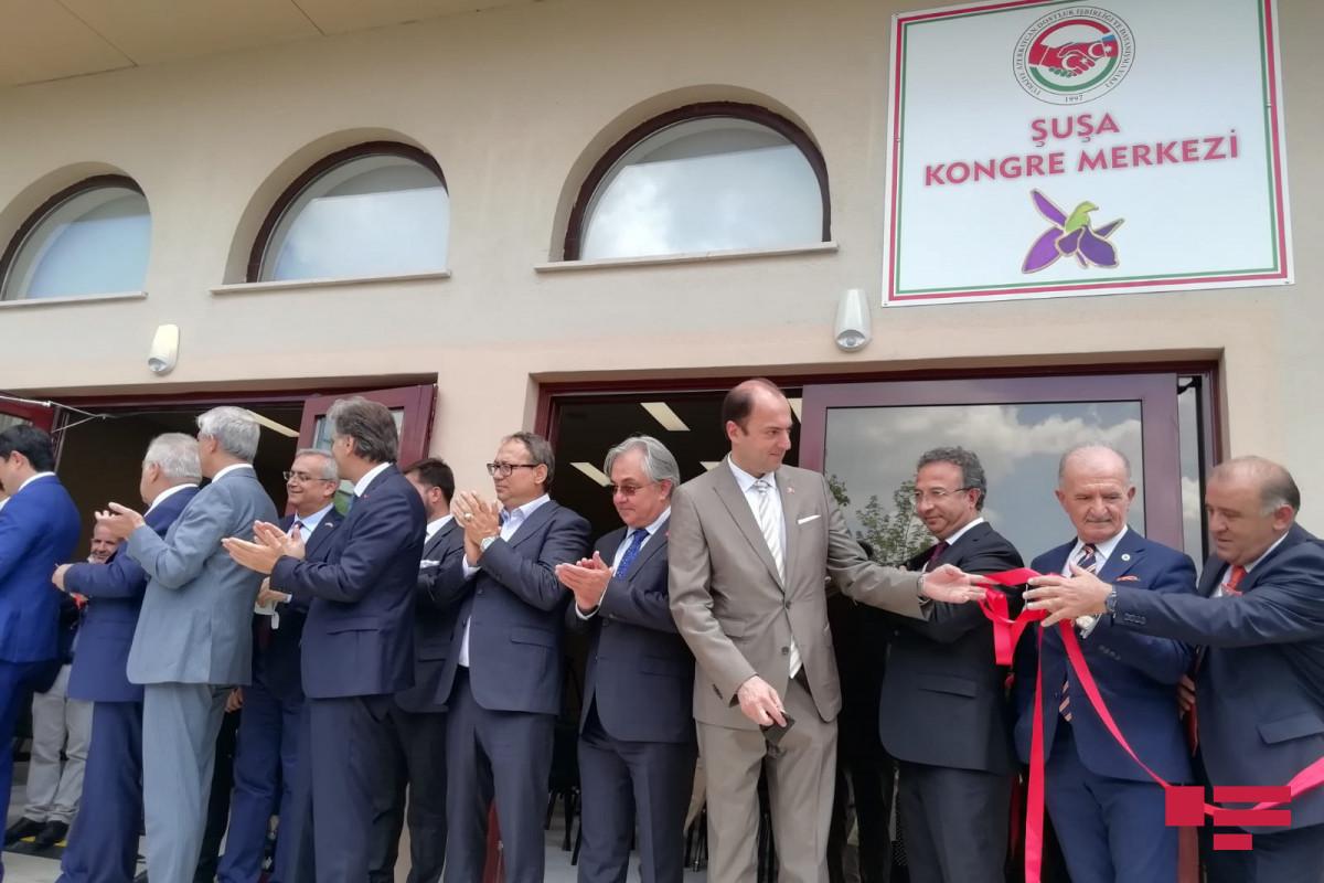 Ankarada Azərbaycan Evinin və Şuşa Konqres Mərkəzinin açılışı olub - FOTO