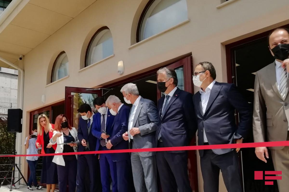 В Анкаре состоялось открытие Дома Азербайджана и Шушинского Конгресс-центра-ФОТО