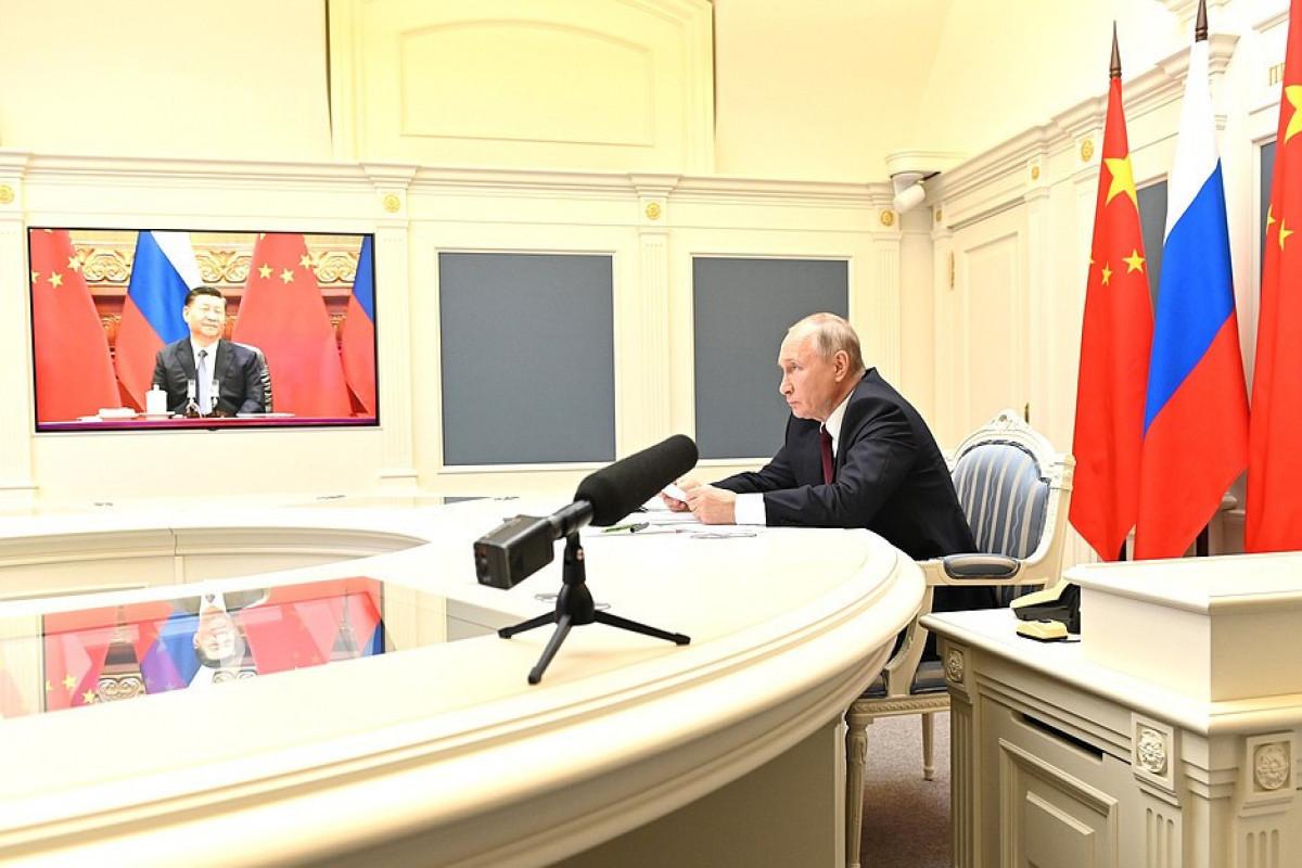 Putin, Xi Jinping holding video meeting, says Kremlin