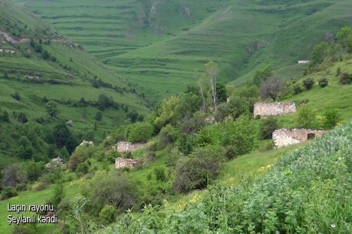 Azerbaijani MoD releases video footage of the Sheylanli village of the Lachin region-VIDEO