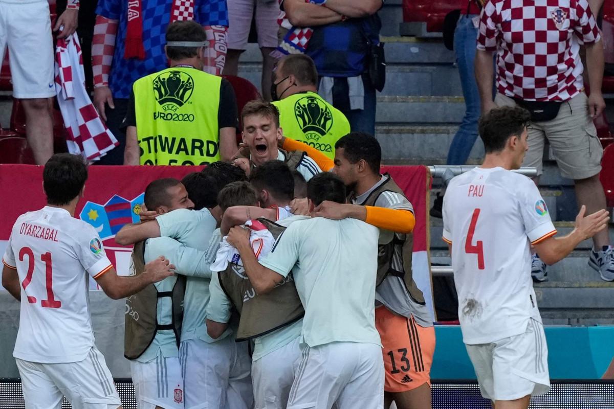 Евро-2020:  Испанияобыграла Хорватию в драматичном матче