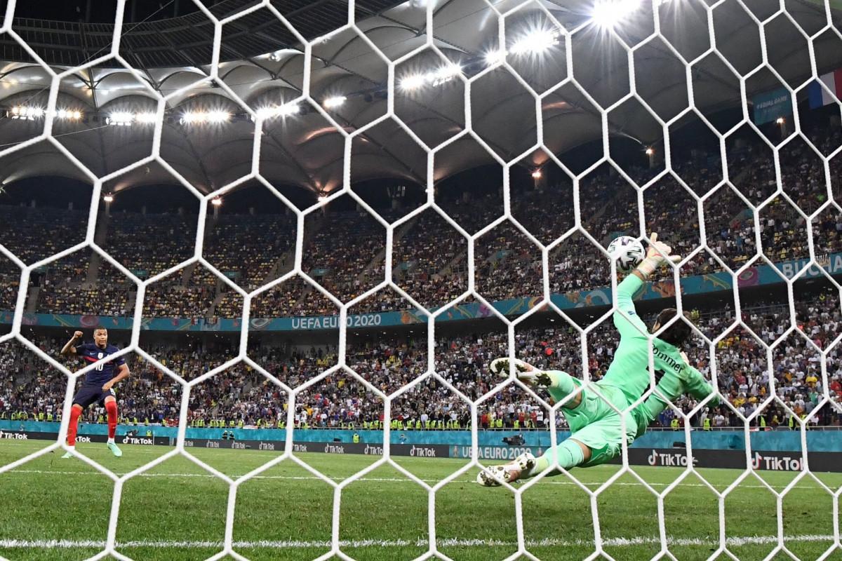 Евро-2020:  Франция проиграла в серии пенальти