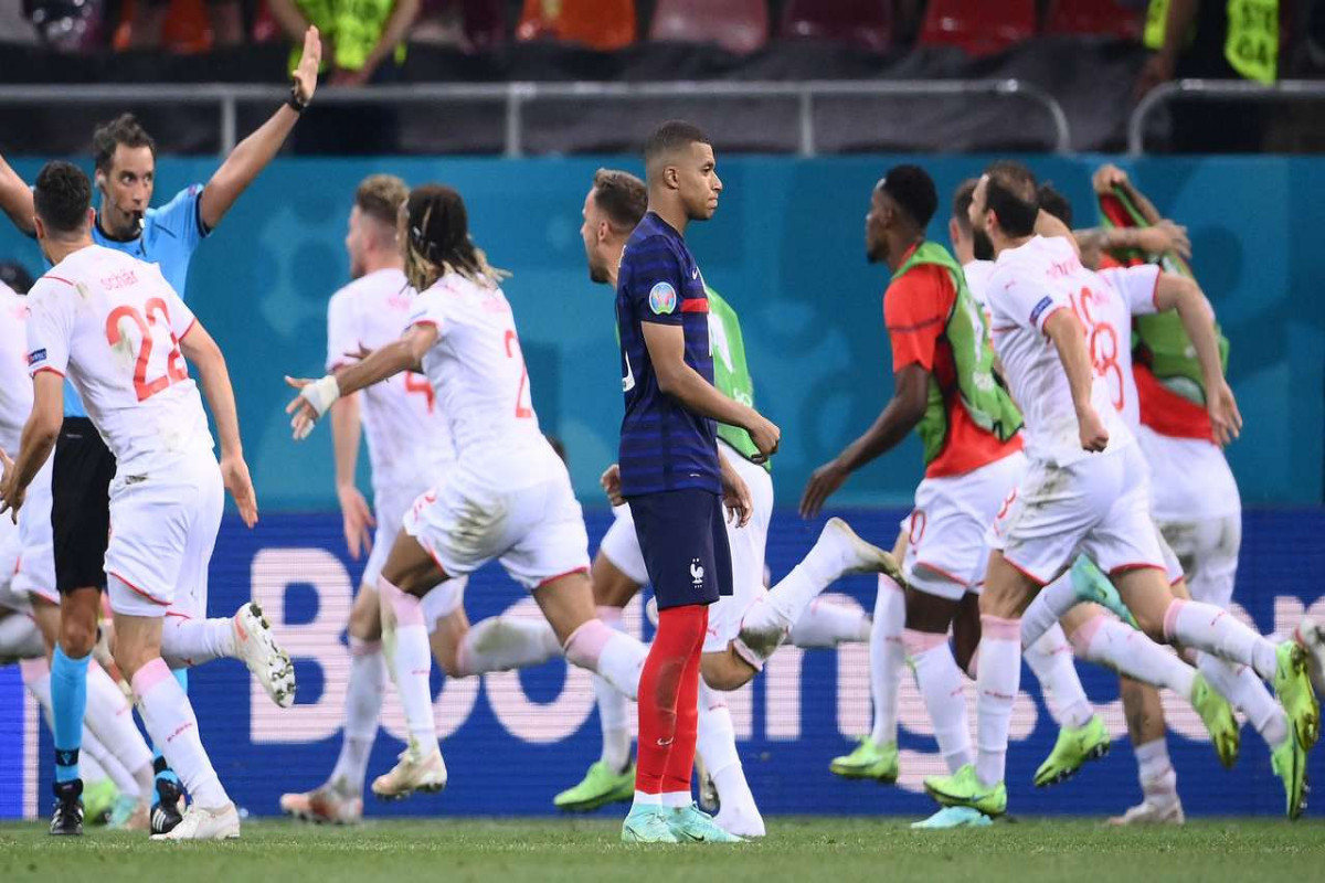 Kylian Mbappe issues apology after penalty miss cost France Euro 2020 progression
